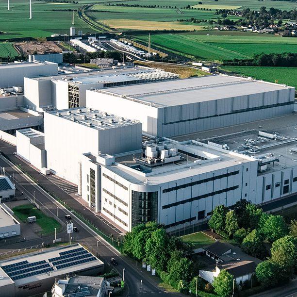Fabrikgebäude Bon Gelati Übach Palenberg